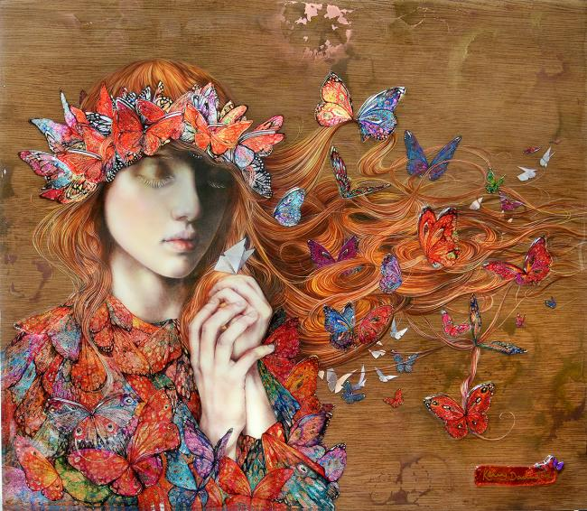 Wish Upon A Paper Butterfly by Kerry Darlington