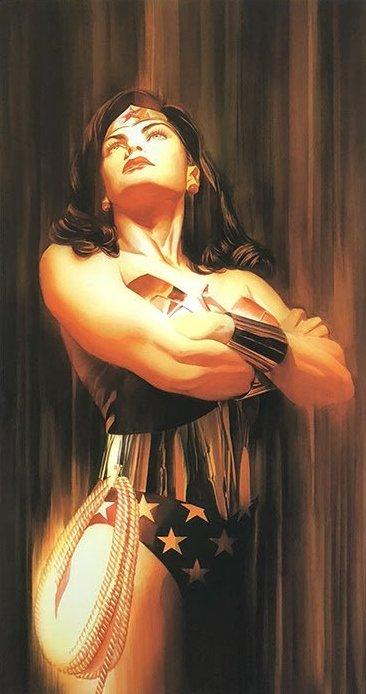 Wonderwoman - Shadows Collection by Alex Ross