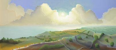 Yorkshire Coast by Mackenzie Thorpe