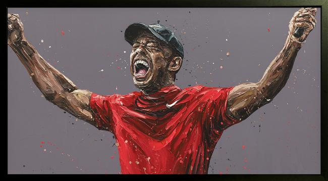 You can always become better- Hand Embellished Canvas by Paul Oz
