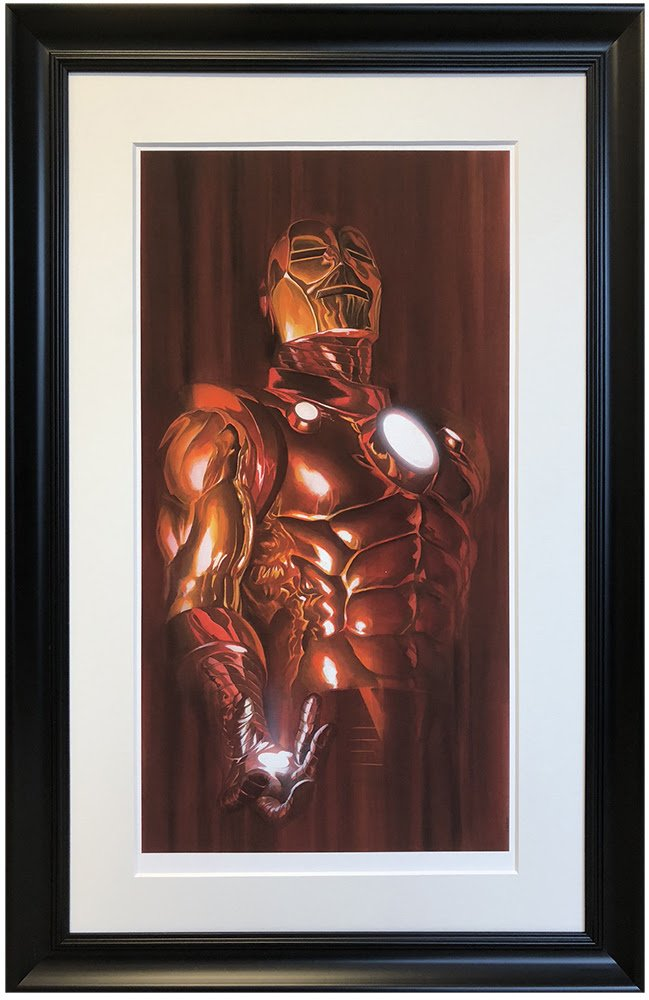 Iron Man - Shadows Collection by Alex Ross