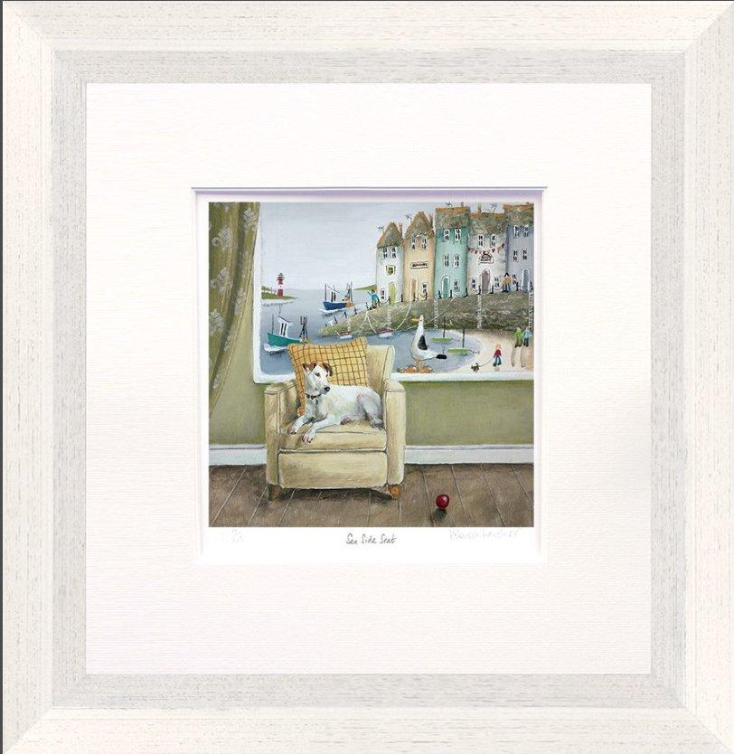 Sea Side Seat by Rebecca Lardner