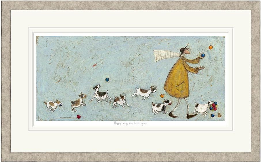 Happy Days Are Here Again by Sam Toft