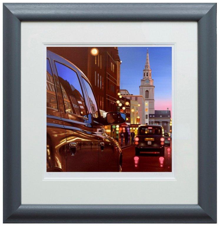 London Dusk Reflections by Neil Dawson