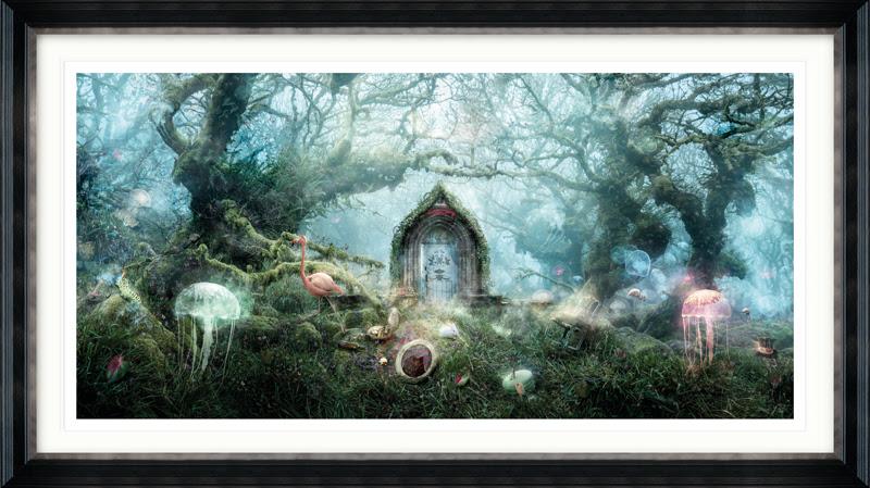 The Open Door (Alice in Wonderland) Large by Mark Davies