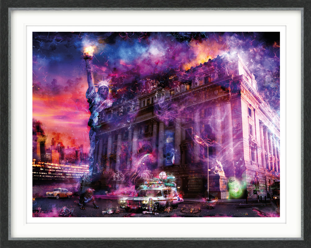 Bustin' Ghosts- Large by Mark Davies