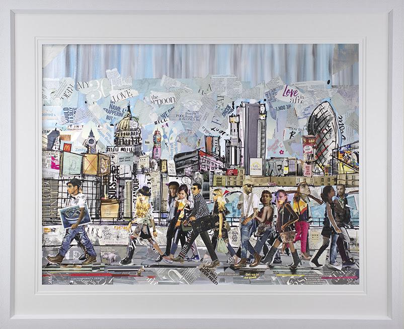 London Walk by Keith Mcbride