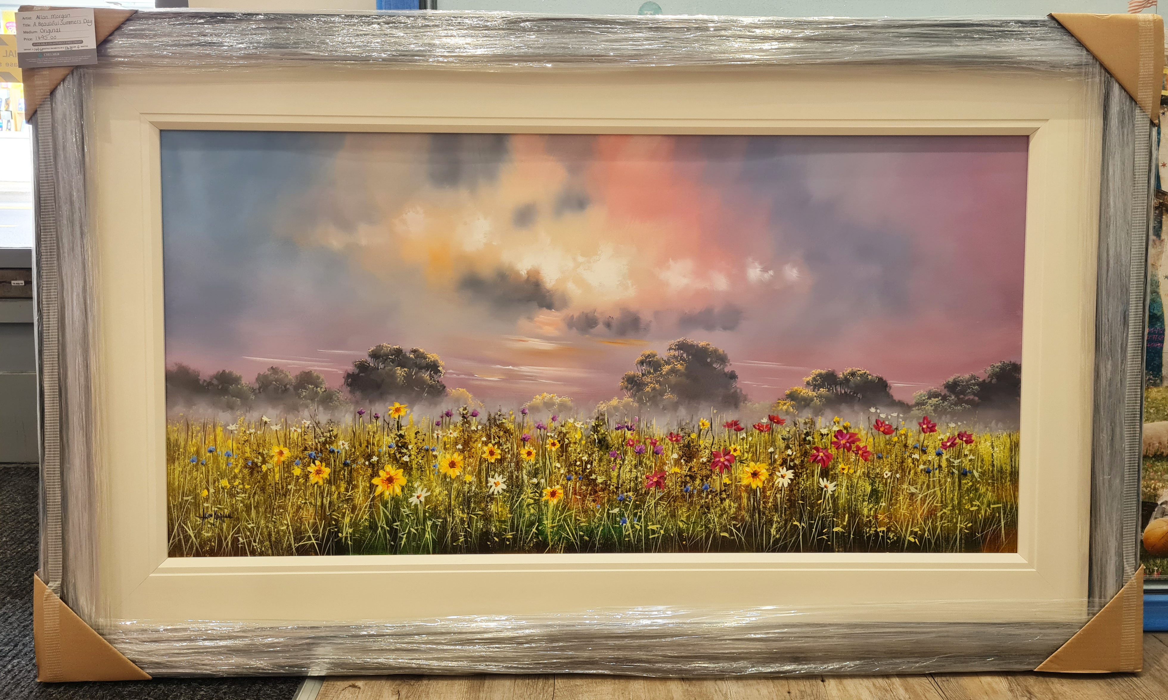 A Beautiful Summers Day by Allan Morgan