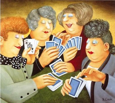 A Full House by Beryl Cook
