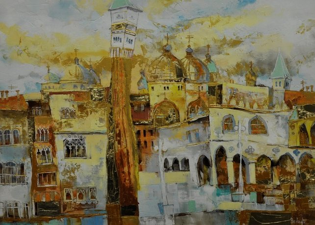 Ambient City II by Veronica Benoni