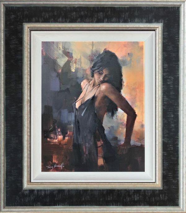 Aubergine Nights- Canvas by Tony Hinchcliffe