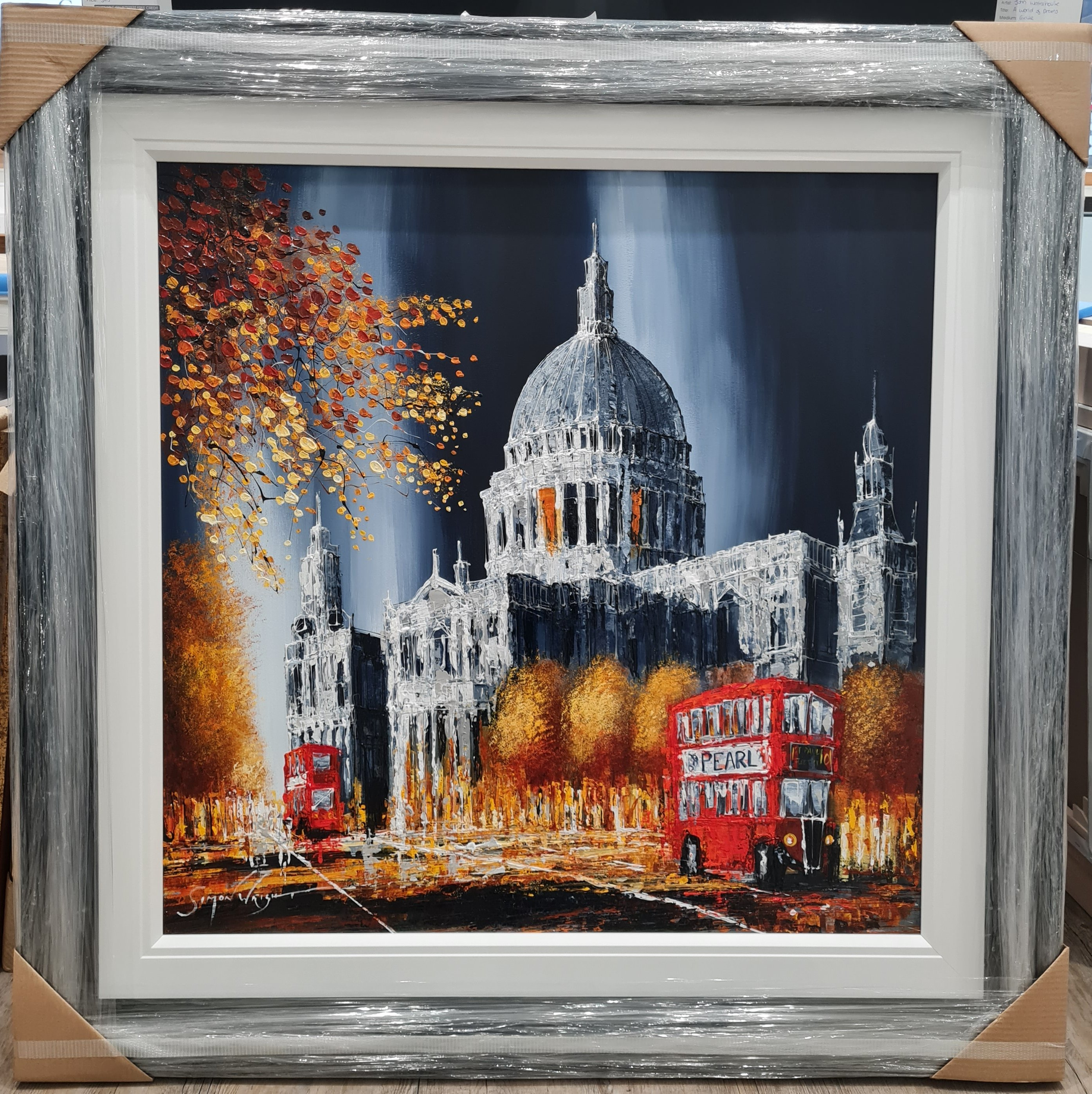 Autumn Glow At St Pauls by Simon Wright
