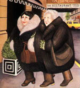 Bar & Barbara by Beryl Cook