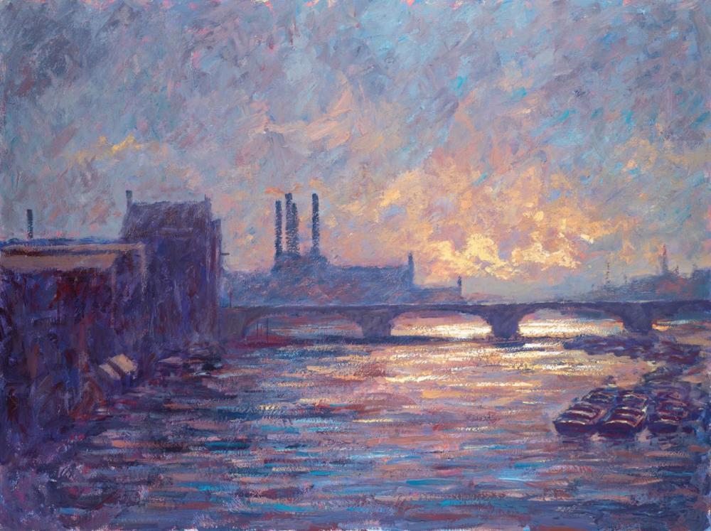 Battersea Sunset by Alexander Millar