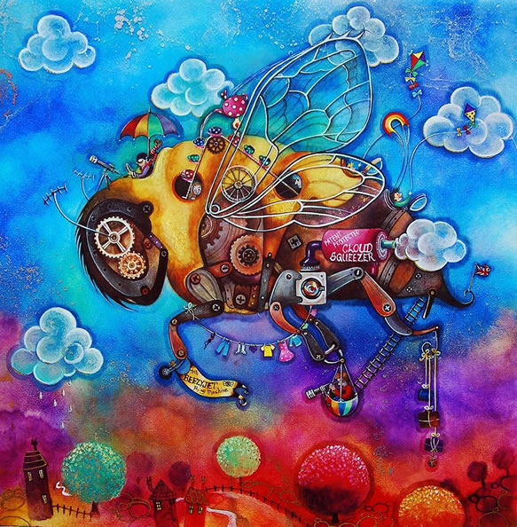 Beezy Jet by Kerry Darlington