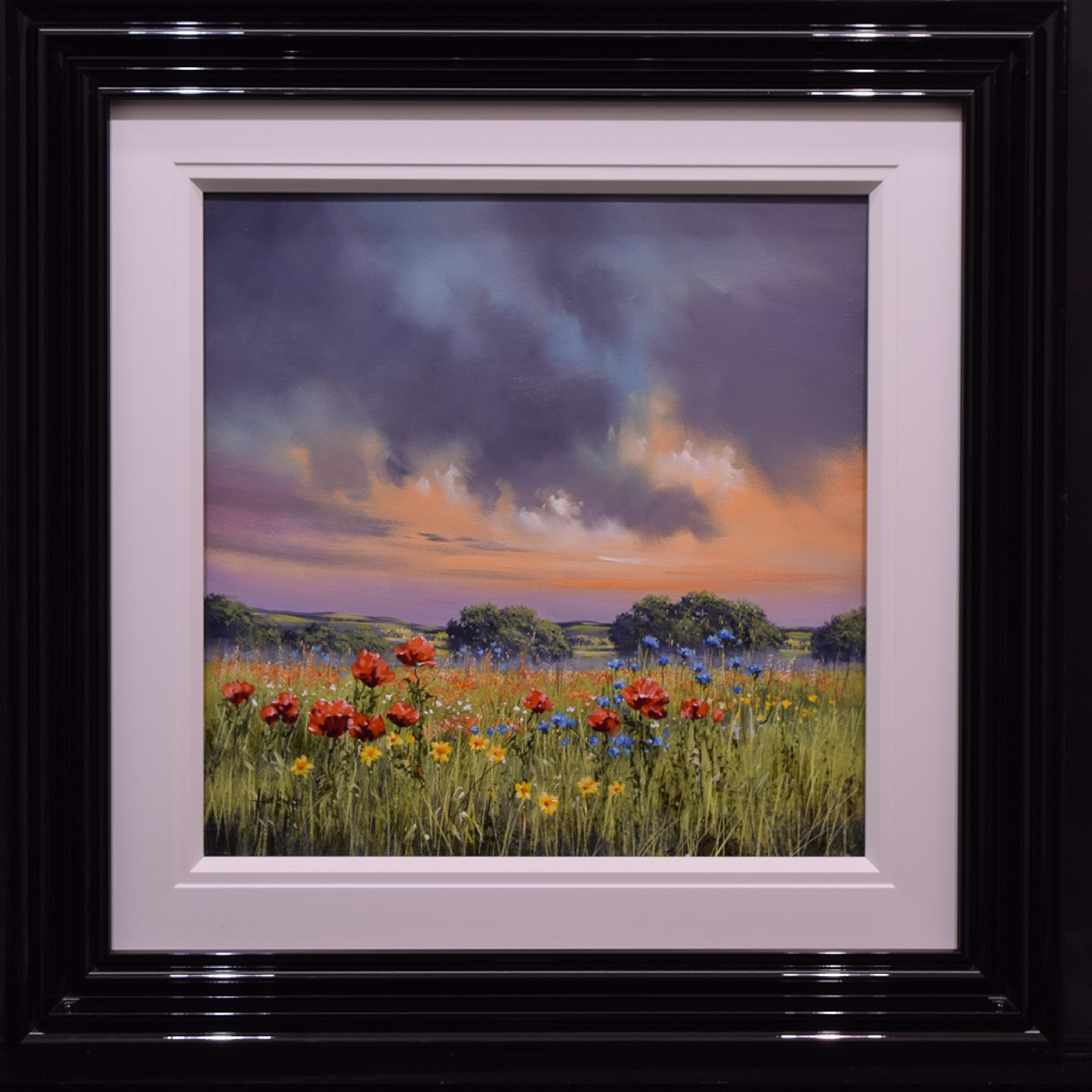 Blooms at Dusk by Allan Morgan