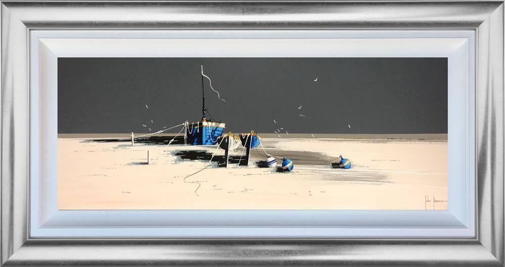 Blue Buoys by John Horsewell
