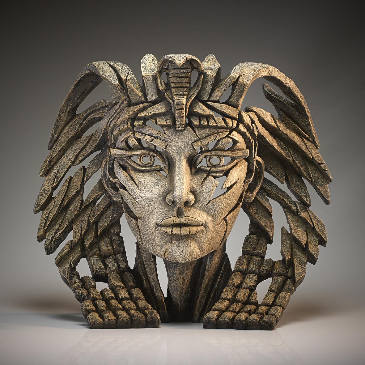 Cleopatra Bust - Desert by Edge Sculptures by Matt Buckley