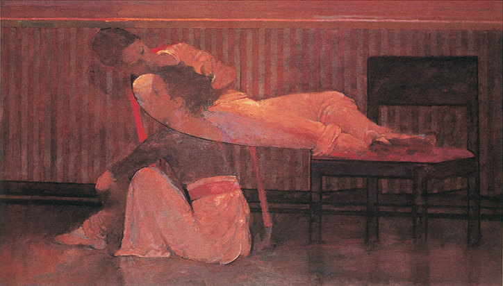 Deux Filles by Robert Heindel