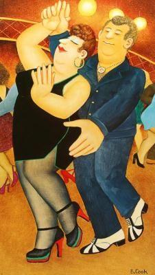 Dirty Dancing by Beryl Cook