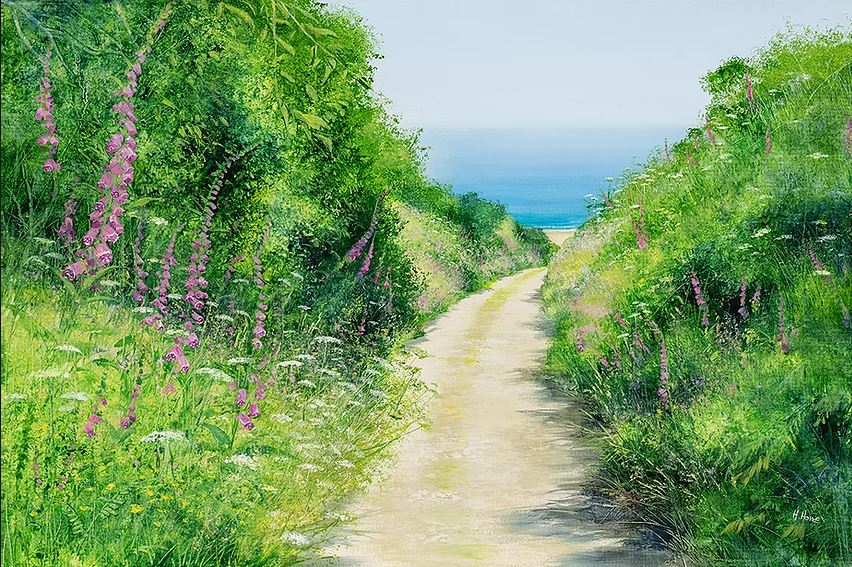 Down to the beach by Heather Howe