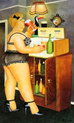 Drinkies - Official Collectors Edition by Beryl Cook