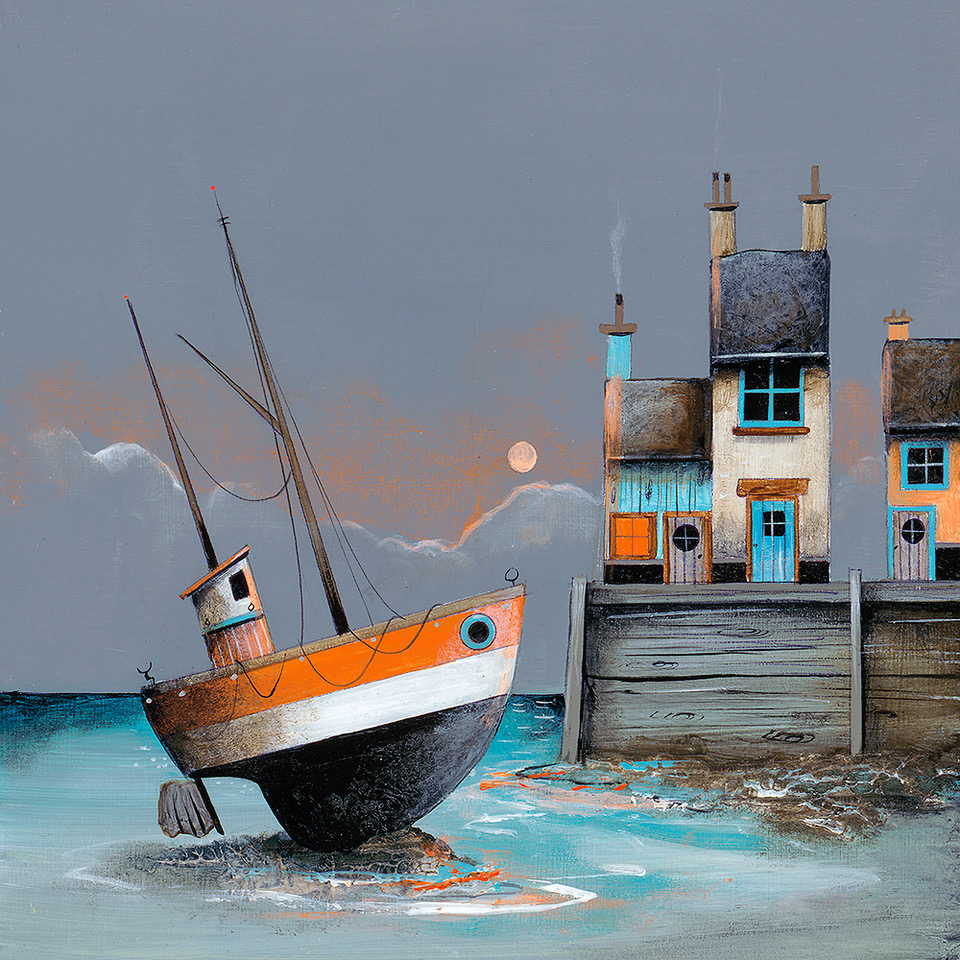 Evening Rest- Original by Gary Walton