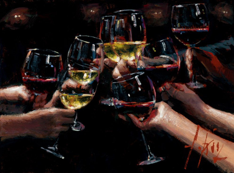 For A Better Life VIII by Fabian Perez