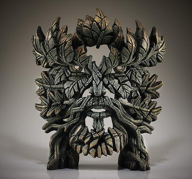 Green Man Bust by Edge Sculptures by Matt Buckley