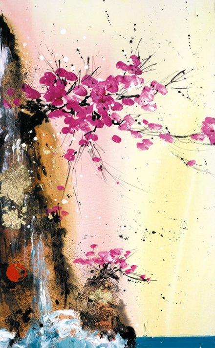 Heavens Kiss II by Danielle O'Connor Akiyama