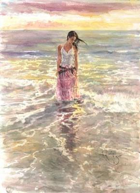 In A Golden Sea by Gordon King