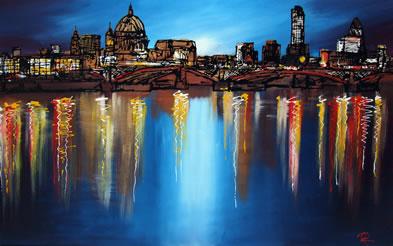 London Reflections by Paul Kenton