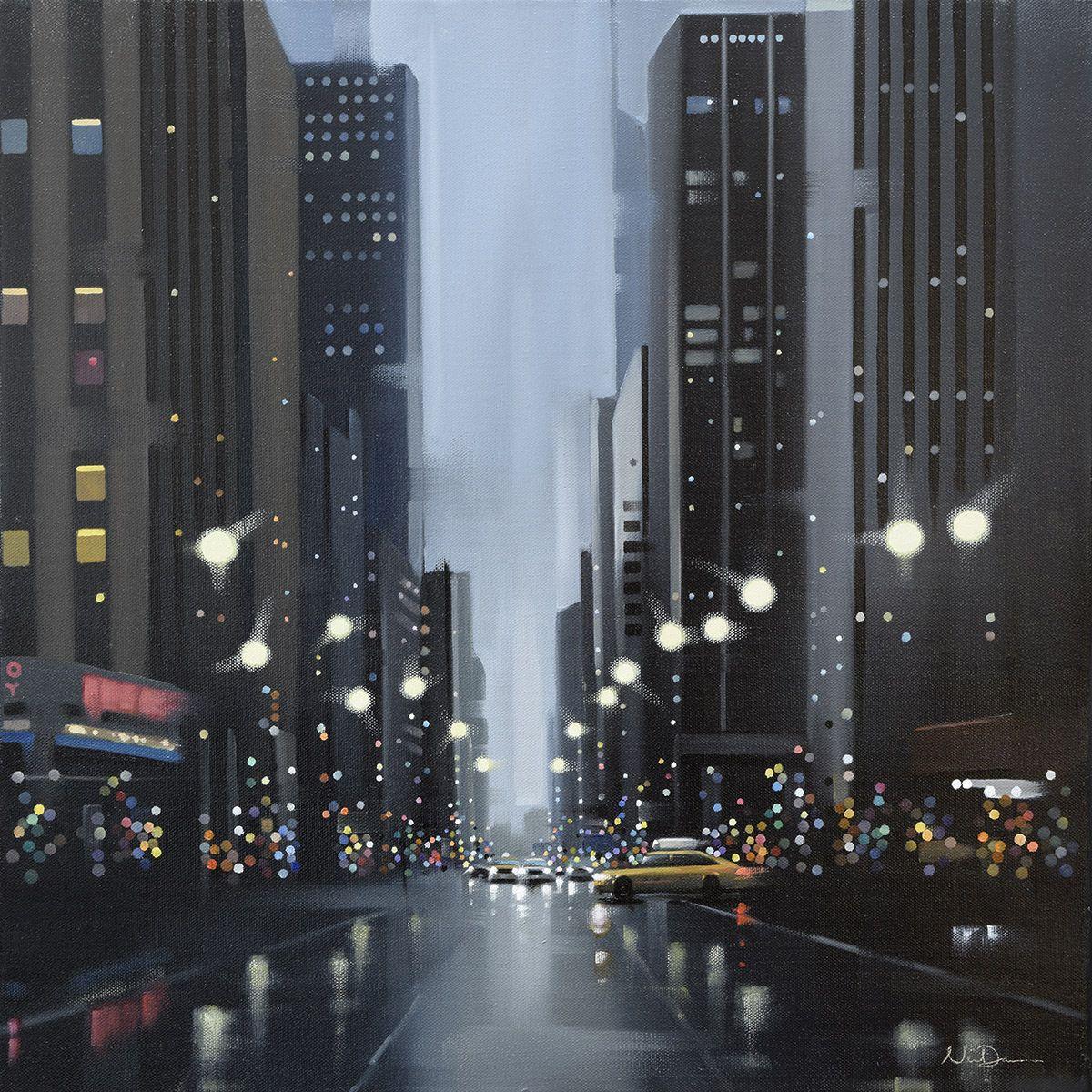 Mean Streets- Original by Neil Dawson