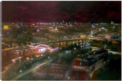 Midnight Over The Seine by Lesley-Anne Derks