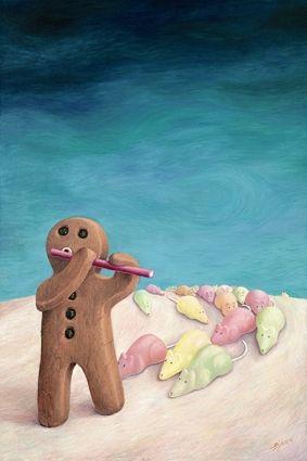 Mischief Of Mice (Canvas) by Sarah Jane Szikora