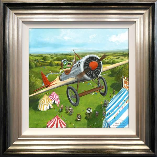 Mr Toad's Fantastic Air Display by Dale Bowen