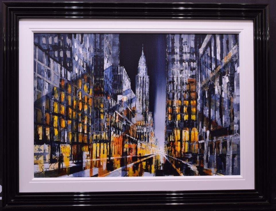 New York Glow by Simon Wright