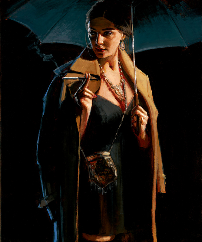 November Rain by Fabian Perez