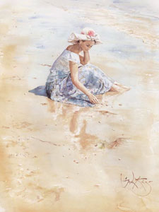 On The Beach by Gordon King