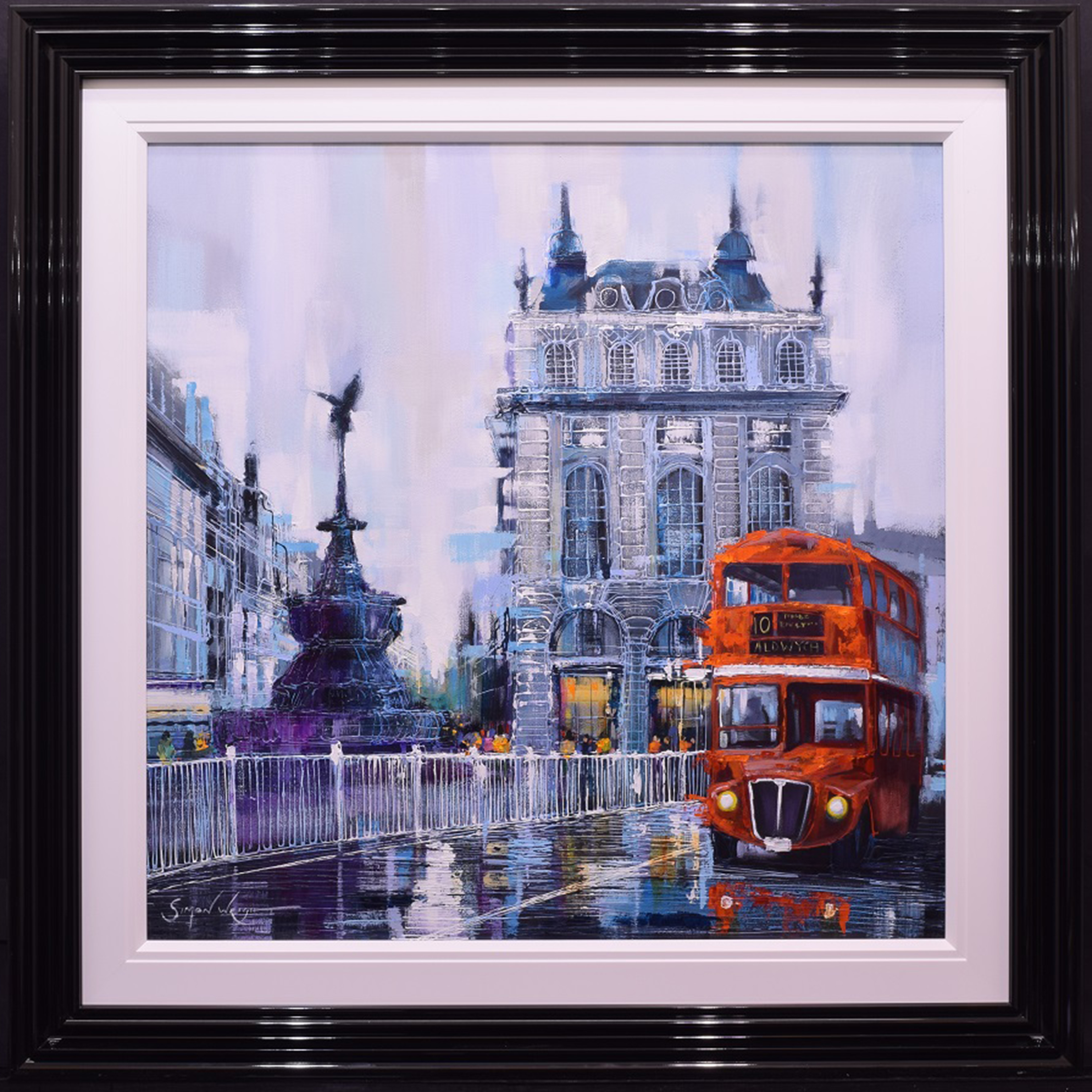 Piccadilly Circus by Simon Wright