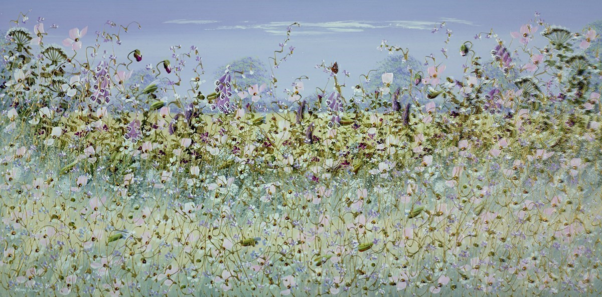 Pink Meadow by Mary Shaw