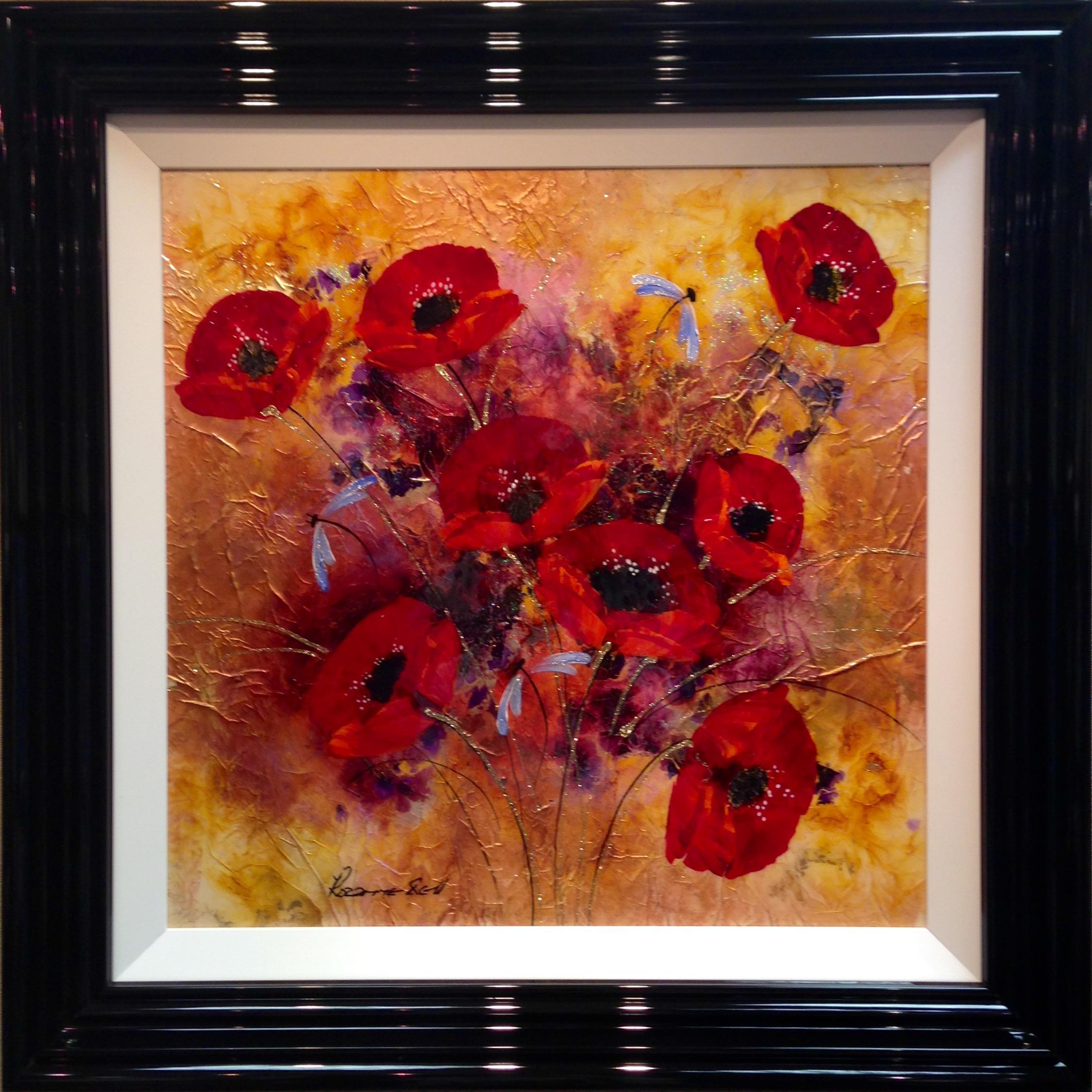 Poppy Splendour I by Rozanne Bell