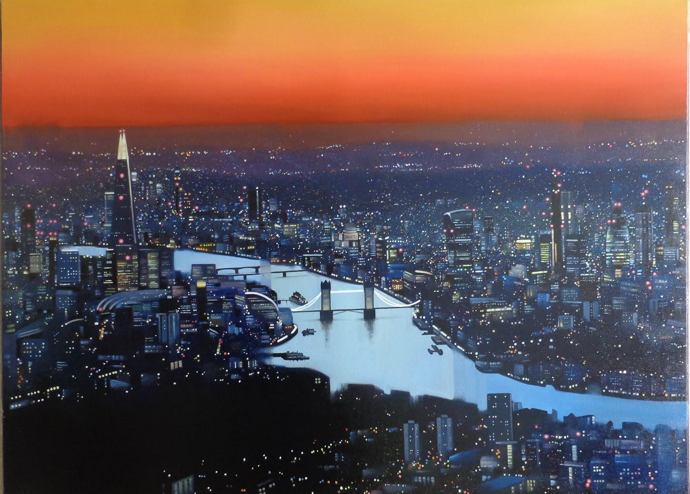 London Lights by Neil Dawson