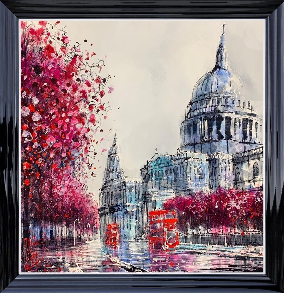 Purple Rain by Nigel Cooke