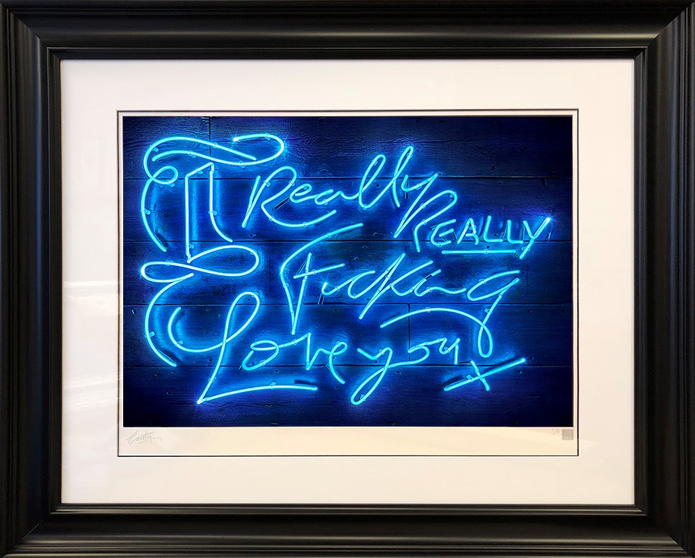 Really Really (Electric Blue) by Courty