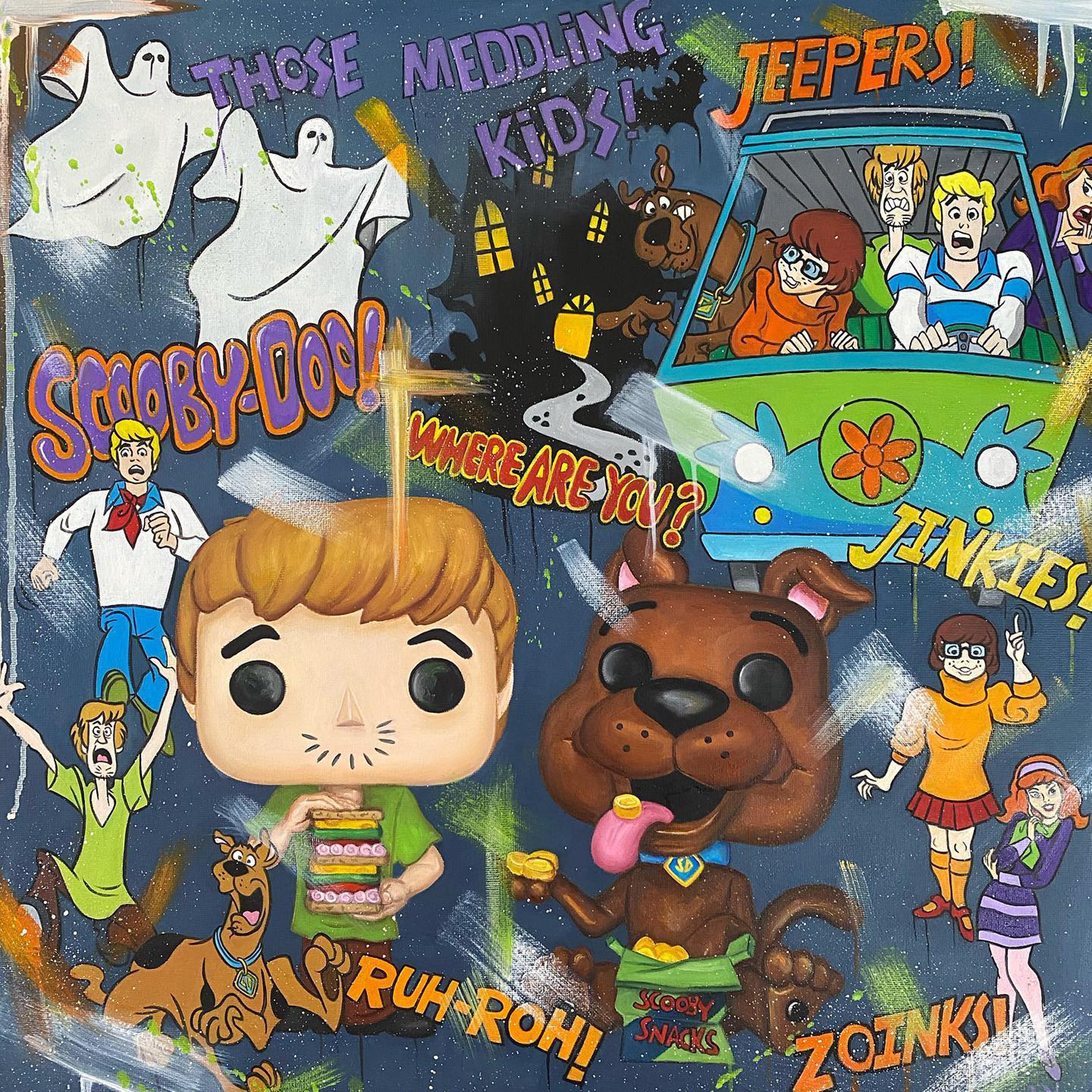 Scooby Doo by Deborah Cauchi