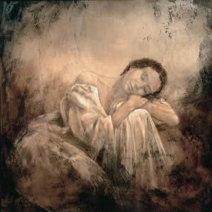 Sonando - Canvas by Domenech