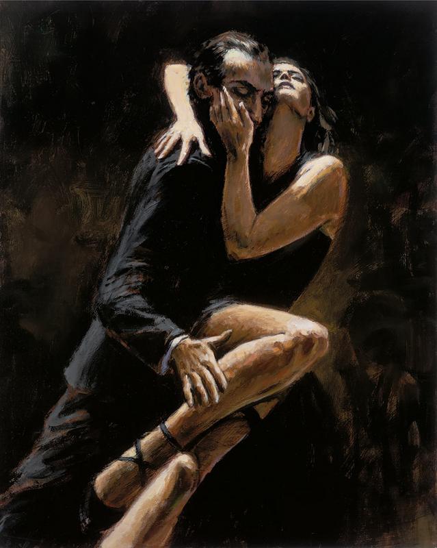 Study for Tango by Fabian Perez