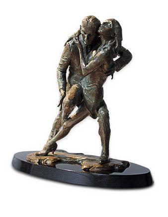 Tango - Bronze by Fabian Perez