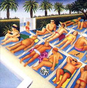 Tenerife Days by Beryl Cook